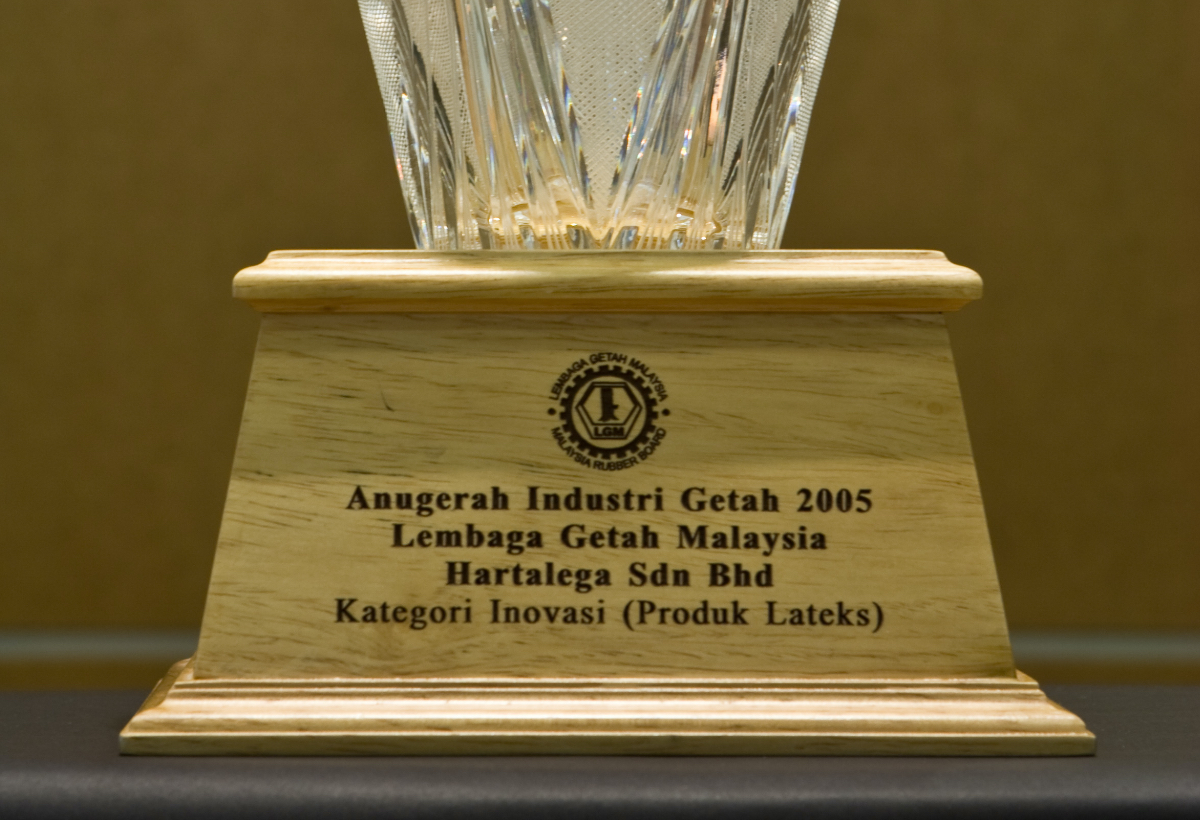 Rubber Industry Award – Innovation (Latex Product) <br> by Malaysian Rubber Board
