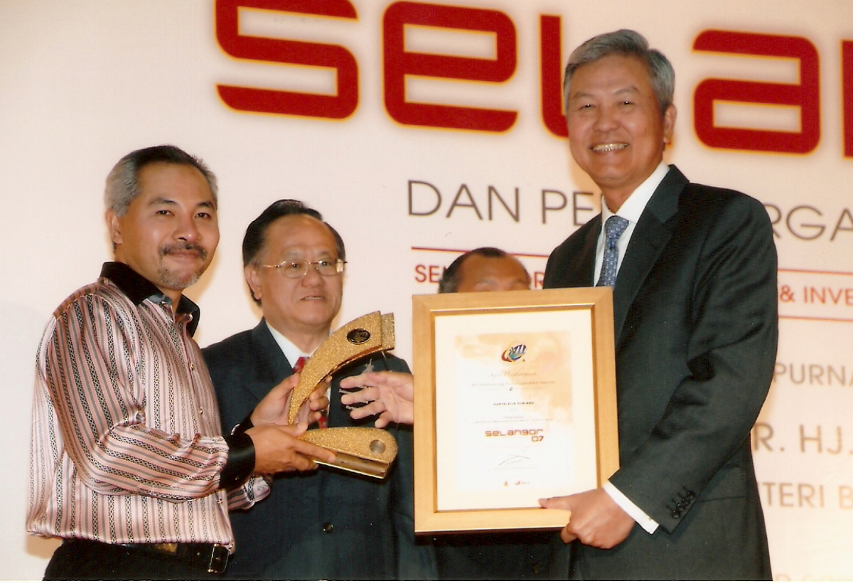 Selangor Innovative Excellence Award <br> by Selangor State Investment Centre