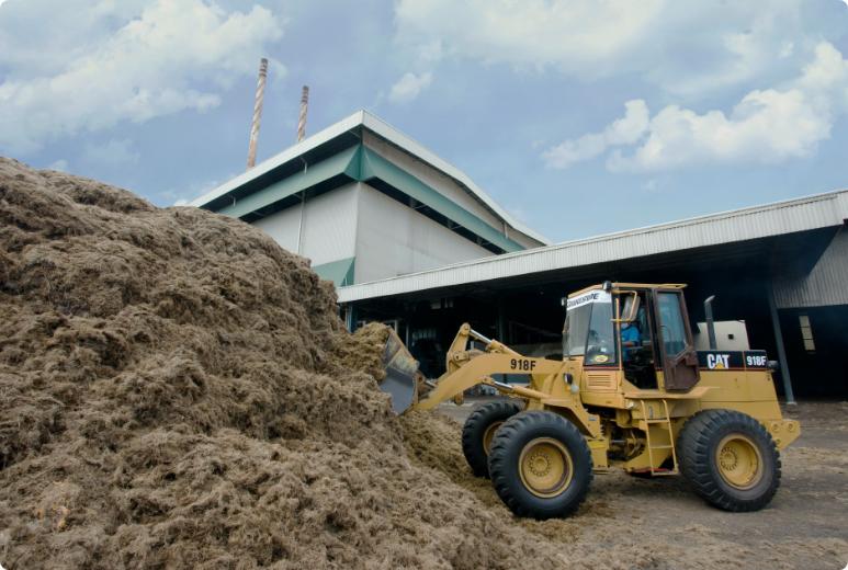 Biomass heat energy plant