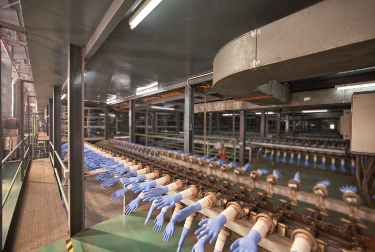 High-efficiency production lines