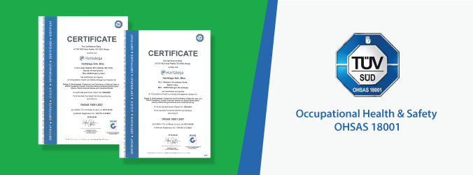 Hartalega Attains International Certification on Occupational Health and Safety – OHSAS 18001