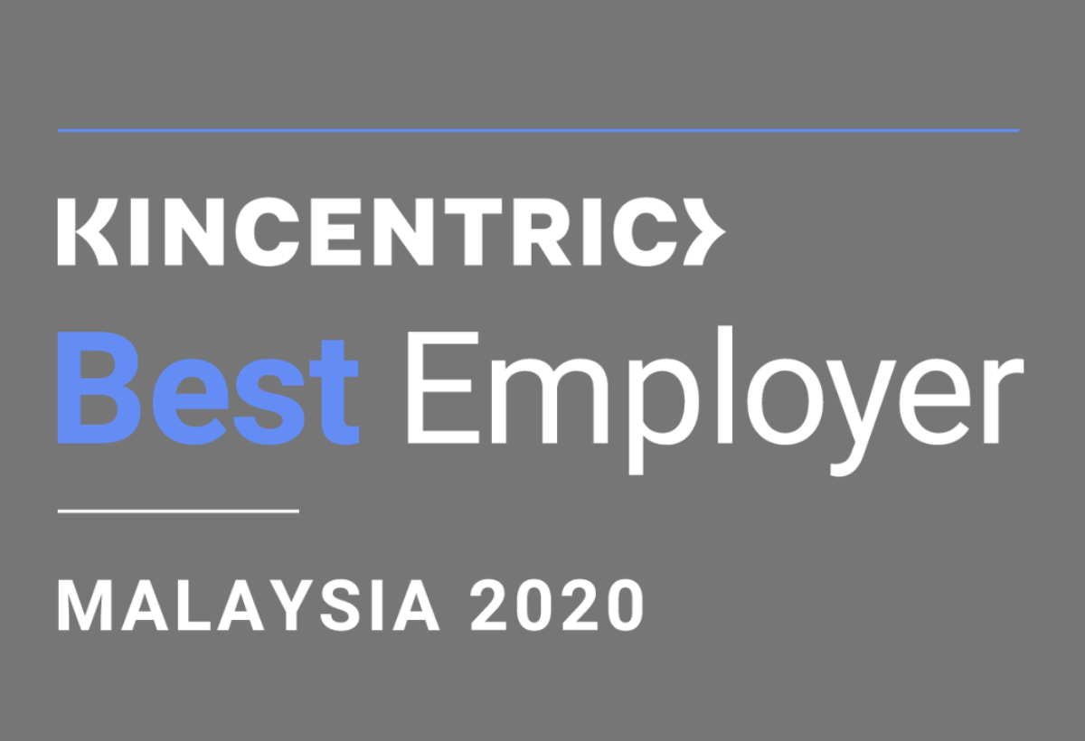 Best Employer Malaysia Award <br> by Kincentric